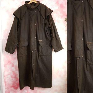 DrizaBone Oiled Water Resistant Riding Trench 3XL